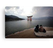 Miyajima - Hiroshima - Japan Canvas Print