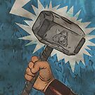 Mjolnir - The Hammer of Thor by Stucko23