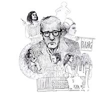 Woody Allen by Dan Bartlett
