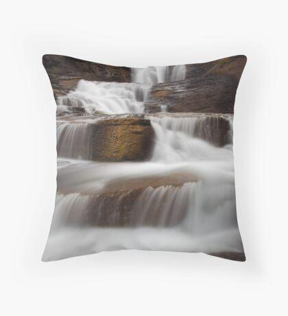 Upper East Falls, Colorado Throw Pillow