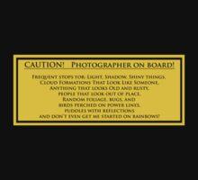Photographer On Board by Bob Larson