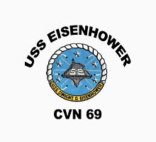 USS Dwight D. Eisenhower (CVN-69) Crest Unisex T-Shirt