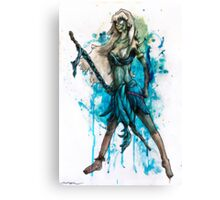 Zombie Princesses - Kida Canvas Print