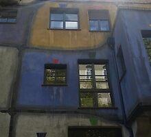 Hundertwasserhaus Vienna, Austria by Jord12