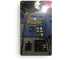 Hundertwasserhaus Vienna, Austria Canvas Print