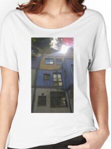 Hundertwasserhaus Vienna, Austria Women's Relaxed Fit T-Shirt