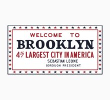 Welcome to Brooklyn Sign, New York by worldofsigns