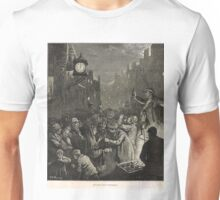 New Year's Eve in Edinburgh 1876 Unisex T-Shirt