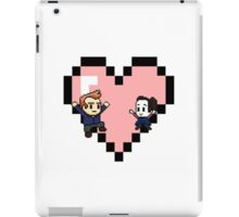 """Love in 8-bit"": Jeff and Annie (Style C) iPad Case/Skin"