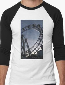 Vienna Riesenrad Men's Baseball ¾ T-Shirt