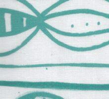Aqua Marine Land Sticker