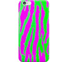 Neon Zebra iPhone Case/Skin