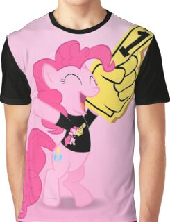 Ponies all the way down - black Graphic T-Shirt
