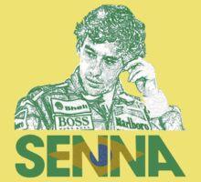 Ayrton Senna by oawan