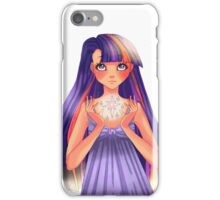at twilight it sparkles iPhone Case/Skin