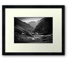 Davos to Stelvio Pass  Framed Print