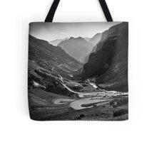 Davos to Stelvio Pass  Tote Bag