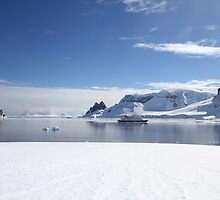 Danco Island or Isla Dedo is an island off Antarctica,  by PhotoStock-Isra