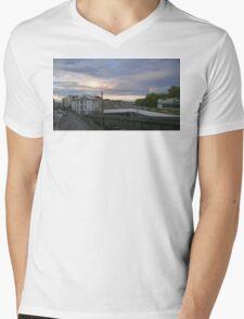 Vienna Sunset Mens V-Neck T-Shirt