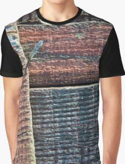 Wooden Weave Graphic T-Shirt