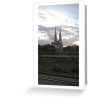 Votive Church, Vienna Greeting Card