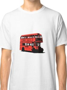 Vintage Red Double Decker London Bus Classic T-Shirt