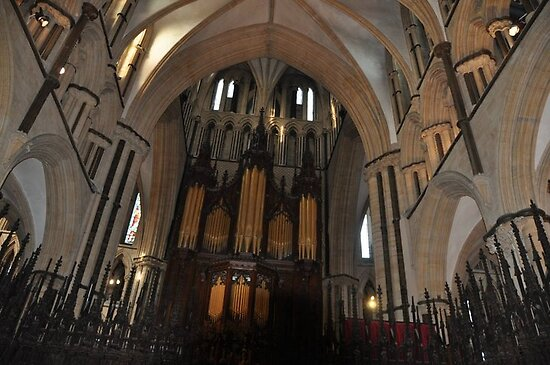 INSIDE LINCOLN CATHEDRAL (3), LINCOLN, UNITED KINGDOM by The-Stranger