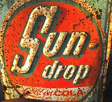 """ Sun Drop Cola Sign "" by waddleudo"