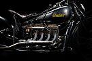 Black Indian Four Engine by Frank Kletschkus