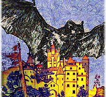 Dracula's Castle, Romania by Dennis Melling