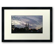 Votive Church, Vienna Framed Print