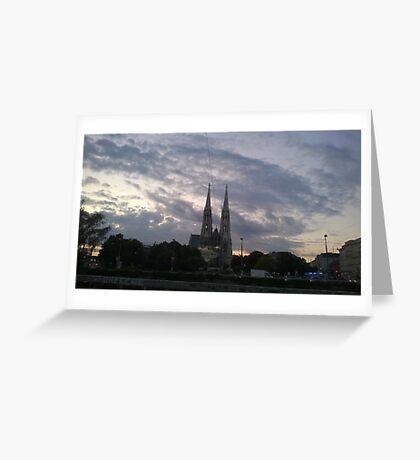 Votive Church, Vienna Greeting Card