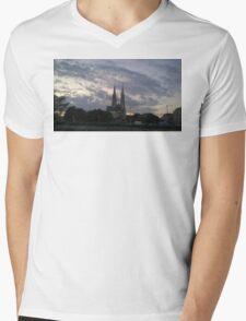 Votive Church, Vienna Mens V-Neck T-Shirt