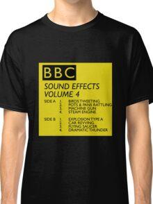 BBC Sound Effects Volume 4 Classic T-Shirt