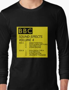 BBC Sound Effects Volume 4 Long Sleeve T-Shirt