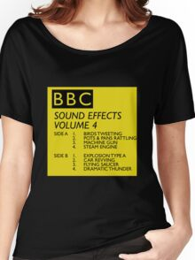 BBC Sound Effects Volume 4 Women's Relaxed Fit T-Shirt