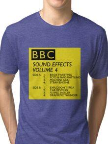 BBC Sound Effects Volume 4 Tri-blend T-Shirt
