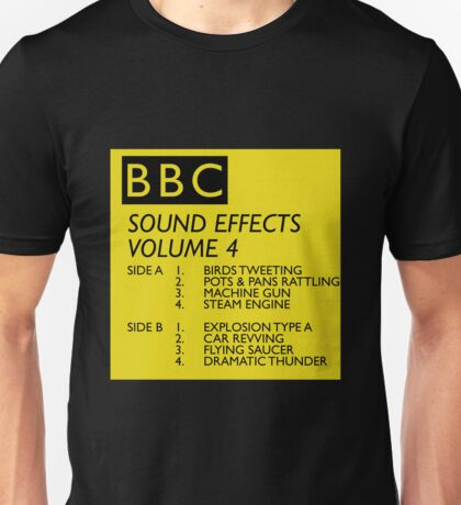 BBC Sound Effects Volume 4 Unisex T-Shirt
