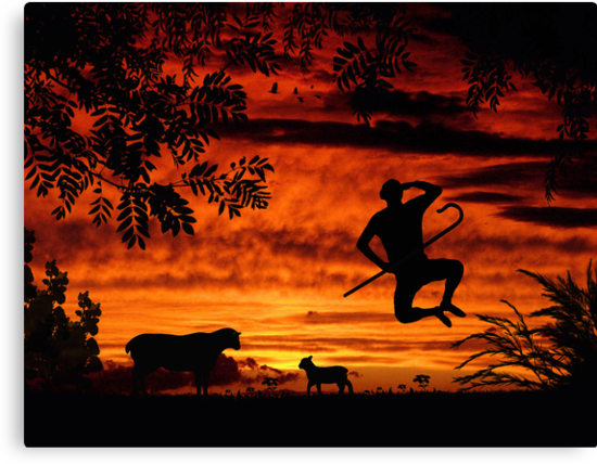 Red Sky At Night, Shepherds Delight by Rookwood Studio ©