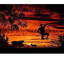 Red Sky At Night, Shepherds Delight Photographic Print