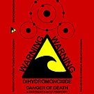 DIHYDROMONOXIDE red case by Siegeworks .