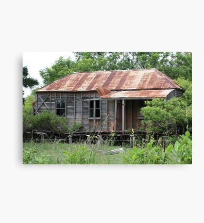Old Home in Ruin Near Thornton Canvas Print