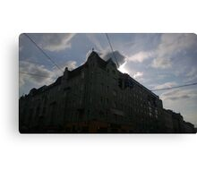 Vienna Sunset Canvas Print