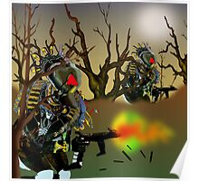 Robot Warriors in the Slime Jungles.. Poster