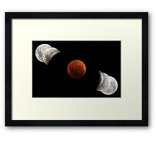2007 Lunar Eclipse Framed Print