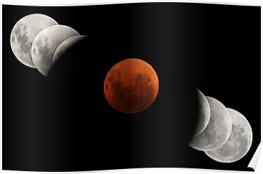2007 Lunar Eclipse by Phil Hart