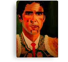 """JOSE TOMAS"" Canvas Print"