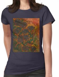 Flowers 11 Womens Fitted T-Shirt
