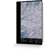 USGS Topo Map Washington State WA Loup Loup Summit 20110429 TM Inverted Greeting Card