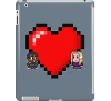 """Love in 8-bit"": Britta and Troy (Style C) iPad Case/Skin"